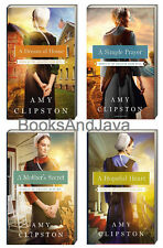 Hearts of Lancaster Grand Hotel 1-4 Mothers Secret+ by Amy Clipston 4-Paperbacks