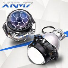 Hella 3R G5 H4 HID Projector Headlight Lens Bi-xenon Blue D2S D2H Honeycomb Kit