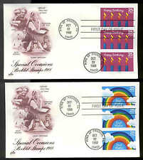 2395-2398 SPECIAL OCCASIONS FDC KING OF PRUSSIA, PA SET of 4 ARTCRAFT COVERS