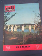 vie du rail 1955 523 LE CATALAN TALGO TEE TRITH LOURCHES LA GRAVE D'AMBARèS SAIN