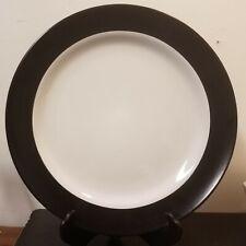 "Mainstays BLACK BANDED Dinner plate, 10 1/4"", Very good"