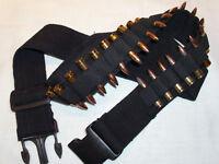 Taurus Judge Hunting BULLET & SHOTGUN Bandolier BLACK Rifle or Pistol Ammo BELT