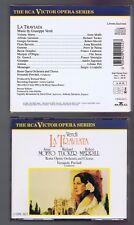 VERDI BOX SET 2 CDS LA TRAVIATA/ ANNA MOFFO/ FERNANDO PREVITALI/ 1960