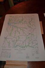 1940's Army topographic map Cecilton Maryland -Sheet 5862 Iv Ne