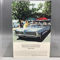 Vintage Magazine Ad Print Design Advertising Pontiac Automobiles