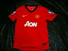 NIKE DRI-FIT Manchester United SOCCER Football Jersey 10-12 Years #9 WALKER RARE
