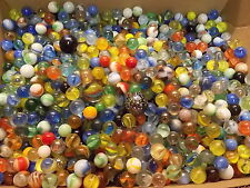 4 Old Marbles - Estate Found, Glass, Cats Eyes, Swirls, Vitro, Agate - FREE SHIP