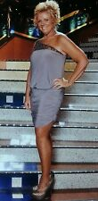 One Shoulder Blouson Dress