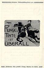 MAX Fränkel & Runge Berlino Runge 's inchiostro è ovunque storica la pubblicità V. 1904