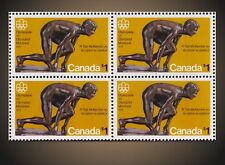 1975 MONTREAL OLYMPIC THE SPRINTER BY Robert Tait McKenzie - BLK OF 4 NH SCT.656