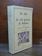 DE SADE : LE 120 GIORNATE DI SODOMA - 1968 L'ARCADIA - EROTICA CLASSICI EROTISMO