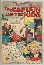 THE CAPTAIN AND THE KIDS NO 29 VERY FINE UNITED FEATURE COMICS 1953