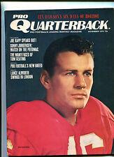 Pro Quarterback # 1 Nov 1970 Len Dawson  Joe Kapp Sonny Jurgensen      MBX16