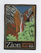 "Zion National Park (BSA Nat. Parks Series) Patch, ""BSA 2010"" Back"