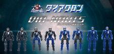 TakaraTomy Transformers Diaclone Drivers Dia-Nauts DA-04 Figure Set of 8 MISB