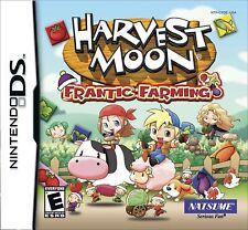 Harvest Moon: Frantic Farming-Nintendo DS-NEU & VERSIEGELT