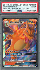 PSA 9 MINT PROMO HIDDEN FATES TINS CHARIZARD GX 2019 PM SM BLACK STAR SM211 *884