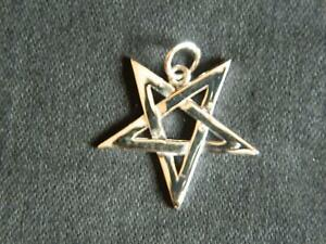 Wiccan 2nd Degree Pendant/925 Sterling Silver with gift bag/Magick/Pagan/Wiccan/