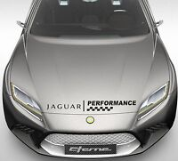 Performance Car Bonnet Sticker fits Jaguar NEW Decal Sticker Car Decor DE15