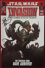 Star Wars: Invasion (2009) #0 - Diamond Variant - Signed Comic book - DHC
