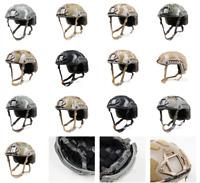 FMA Tactical Airsoft SF SUPER HIGH CUT HELMET Protective Helmet (TB1315-B) -