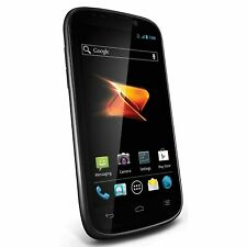 ZTE Warp Sequent - 4GB - Black - Boost Mobile