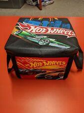 Mattel Hot Wheels Zip-Bin Play Track Mat 2010 and 3 collector cars Bonus!