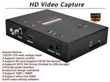 SDI /HDMI 1080P Endoscopy Video Recorder Medical Check Surgery Video Capture