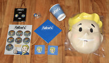 Fallout 4 Fan Pack Collectibles Collection Gamescom PS4 Xbox One Rare Promo 76