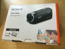 NEW Sony Handycam HDR-CX440 8GB Wi-Fi 1080p HD Video Camera Camcorder USA