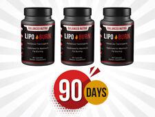 3 x Fat Burner Appetite Control Weight Loss pills fat burning pills 90 days pack
