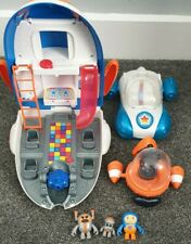Go Jetters Toy Bundle Vroomster Jetpad And Glitch amd Grimbler playset cbeebies