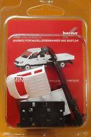 Herpa 013215 MiniKit MAN TGE Doppelkabine mit Pritsche weiß Scale 1 87