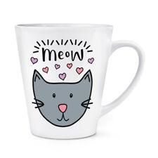 Miaou Luna Chat 341ml Latte Tasse - Drôle Crazy Cat Lady Chaton