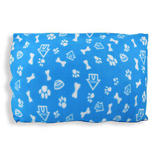 DOG HOUSE - FLEECE DOGS CUSHIONS. 5 Modern Colours, Zip off Covers Pets Pillows