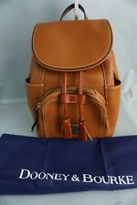 Authentic Dooney & Bourke Caramel Leather Medium Murphy Backpack---NWT $288