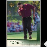 2001 Upper Deck Golf #1 TIGER WOODS Rookie Card RC (BEST EVER ??? GOAT??) 📈