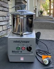 Robot Coupe Blixer 6 Vertical Commercial Blender Mixer 2 Speed 220v3 Phase