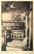 Vintage Postcard: The Manger, Bethlehem, Israel ca. 20s