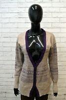 REPLAY Cardigan Maglione in Angora Donna Taglia Size L Pullover Lana Sweater Man