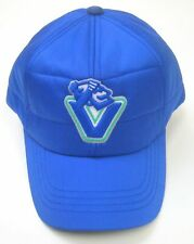 NHL American Needle Vancouver Canucks Outdoorsman Royal Cap Quilted Cap Hat