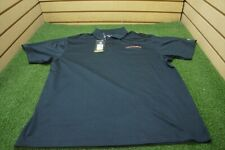 NEW Under Armour Golf Loose Polo Mens Size XL Black W/Logo  Clothing
