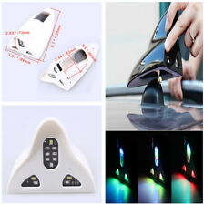 Aut Solar Powered Led Flashing Tail Lights Car Styling Shark Fin Antenna Remote