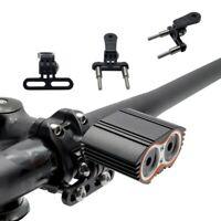 Bicycle Clamp Mount Holder Adapter Sport Camera Flashlight Rack Bike Handlebar