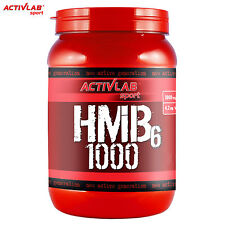 ACTIVLAB Nutrition Hmb6 1000 120/230 Tablets Pure HMB Increase Lean Muscle Mass 120 Tabs