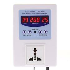 AC 110V 10A LED Digital Intelligent Pre-wired Temperature Controller Thermostat