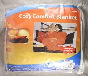Cozy Comfort blanket in oatmeal coloured 180 cm x 137 cm new in packaging
