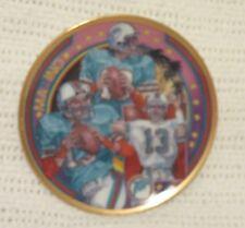 1990 Dan Marino Miami Dolphins Sports Impressions Mini Plate Superstar Series
