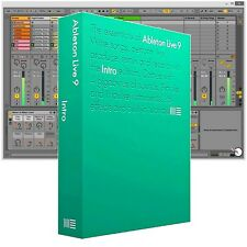 Ableton Live 9 Intro DAW Digital Recording Music Production Software Boxed 10