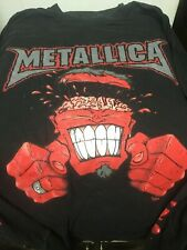 Metallica Red Brain Giant Shirt Long Sleeve Vintage (XL)